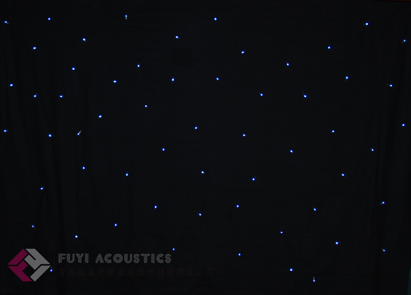 starry stage curtain