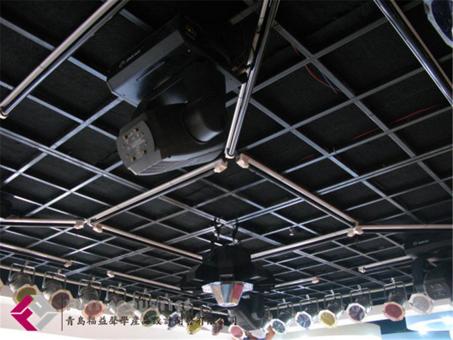 环保纤维吸声板用作天花板效果
