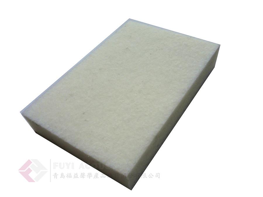 100%环保纤维吸声板 (墙板系统内用板芯)